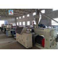 Wholesale PVC WPC Foam Board Making Machine , WPC Wood Plastic Machinery from china suppliers