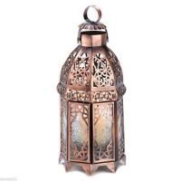 Wholesale Candle Lanterns Antique Medieval Intricate Copper Moroccan Candle Lamp Home Decor Lantern Design from china suppliers