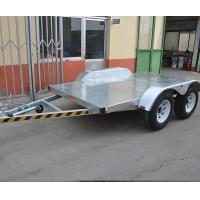 China Off Road Small 3500kgs Car Carrier Tandem Axle Plant Bobcat Excavator Trailer on sale