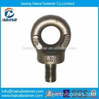 BS4278 Galvanized Collared Eye Bolts