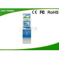 China Self Service Software Dual Screen Kiosk Gift Card Dispenser Anti - Vandal 250cd / on sale