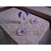 China Hand crochet tablecloths coaster on sale