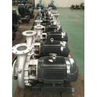 Buy cheap Coaxial Horizontal Centrifugal End Suction Pump Hydraulic Easy Maintenance from wholesalers
