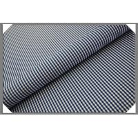 Buy cheap Gingham Shirting fabric - Medium Blue from wholesalers