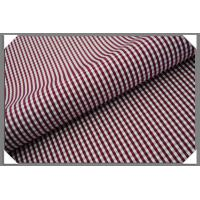 Buy cheap Gingham Shirting Fabric - Cranberry from wholesalers