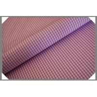 Buy cheap Gingham Shirting Fabric - Violet from wholesalers