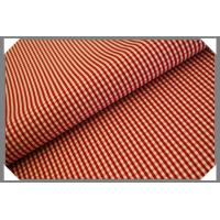 Buy cheap Gingham Shirting Fabric - Red from wholesalers