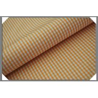 Buy cheap Gingham Shirting Fabric - Peach from wholesalers