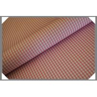 Buy cheap Gingham Shirting Fabric - Pink from wholesalers