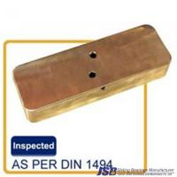 Buy cheap hatch cover bronze bushing pad in ptfe lubricant lubripad from wholesalers