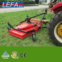 China PTO Driven Tractor Rear Mounted Finishing Mower with Gearbox on sale