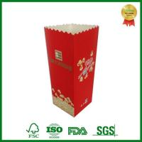 China Custom Printed Foldable Cinema Movie Popcorn Box Package on sale