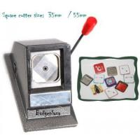 China Square Badge Circle Cutter on sale