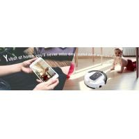 China Best Robotic Vacuum Cleaner High Suction Cleaning For Hard Floor And Thin Carpets on sale