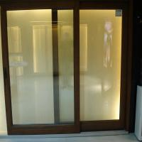 Wholesale soundproof sliding front wood doors from china suppliers