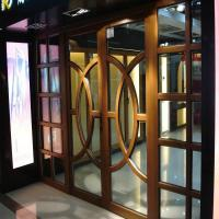 Wholesale modern design wood entrance doors from china suppliers