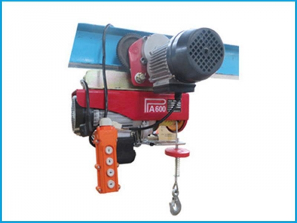 Mini electric wire rope hoist with trolley for sale 49041912 for 2 ton hoist with motorized trolley