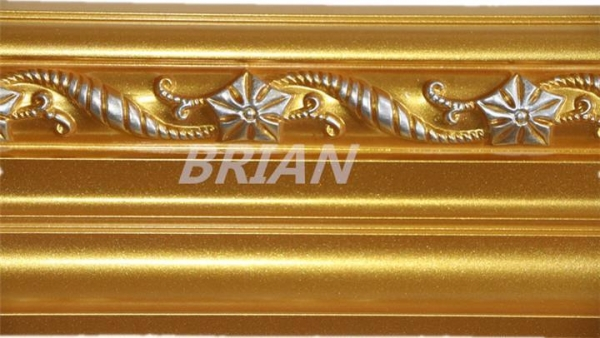 European and modern style pu chair rail molding for wall for Advanced molding and decoration