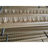 Wholesale European Style Cornice Leaf Pattern PU moulding for living room decoration from china suppliers