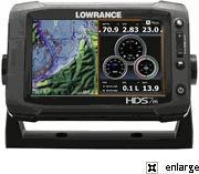 Lowrance HDS-7m Gen2 Touch Insight GPS Chartplotter