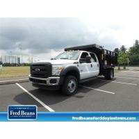 China NEW 2016 FORD F-450 CHASSIS 12FT READING LANDSCAPE DUMP DUMP-TRUCK FOR SALE IN DOYLESTOWN, PA on sale