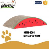 Buy cheap KFMZ-1001 Durable Watermelon Shape Corrugated Cardboard Cat Scratcher from wholesalers