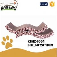 Buy cheap KFMZ-1004 Eco-Friendly Corrugated Cat Scratcher Cat Lounge Bed Pad from wholesalers