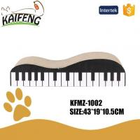 Buy cheap KFMZ-1002 Cardboard Piano Shape Cat Scratch Board With Catnip from wholesalers