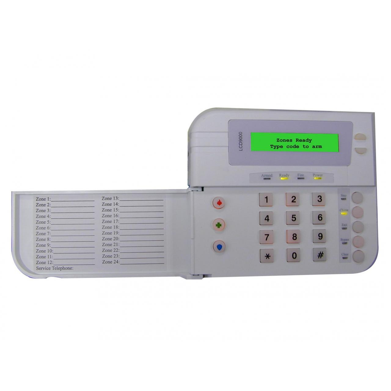 Buy cheap 9000 Series Alarm Panels PS-LCD9000 LCD Keypad from wholesalers