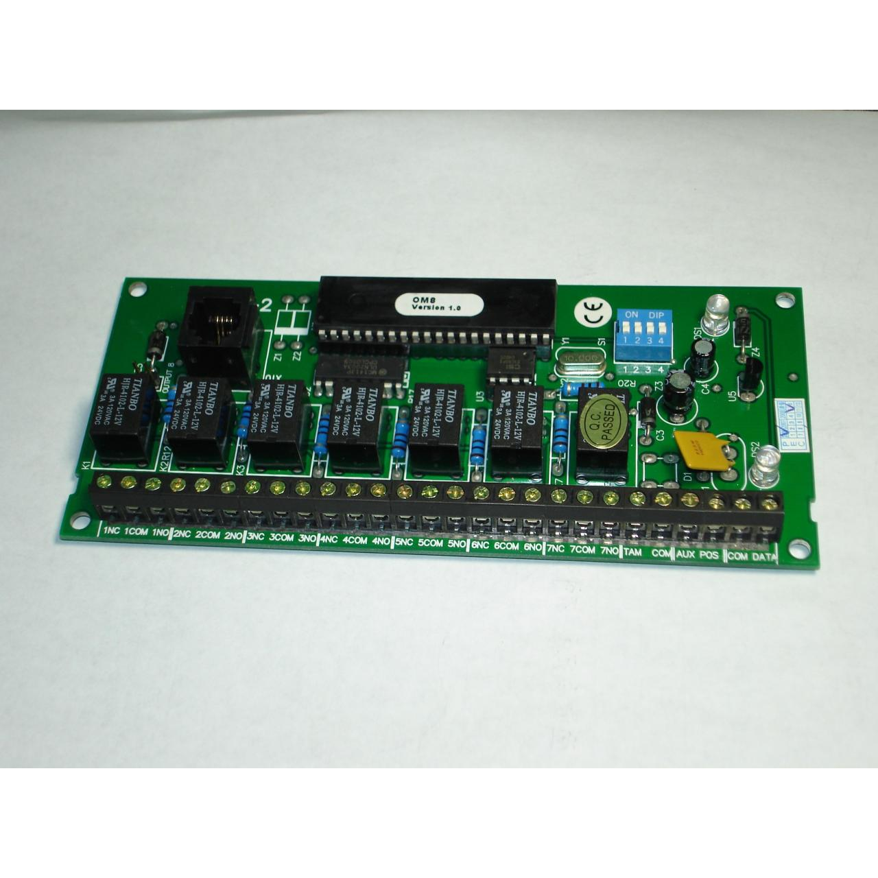 Buy cheap 9000 Series Alarm Panels PS-OM8-2 Programmable Relay Output Module from wholesalers