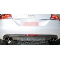 China REAL CARBON REAR DIFFUSER for AUDI 8J MK2 TT Normal model 2006-2010 on sale