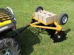 China WOFOD-16 ATV Tow Behind Disc Harrow on sale