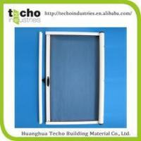 Retractable roller insect fly screens and screen doors for Roller fly screens for doors