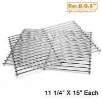 China Grid Cooking Grates Replacement for Weber 7521 Meshes (14.9 x 11 x 2.2'' ) on sale