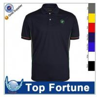 Customized wholesale polo shirt embroidery of item 48094913 for Cheap custom embroidered polo shirts