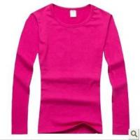 Wholesale T-shirt/Polo Women long sleeve T-shirt from china suppliers