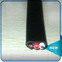 Wholesale Rubber 3 Core Flat submersible pumps Cables from china suppliers