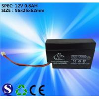 Wholesale Lead-acid battery 12V 0.8AH from china suppliers