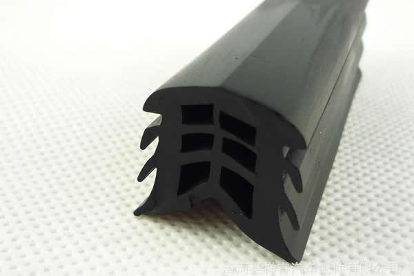 Seal strips for concrete structures of item