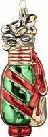Wholesale Christmas Decor Glass Holiday Golf Bag Ornament from china suppliers
