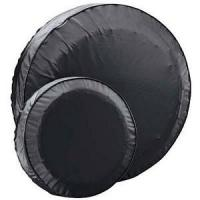 China Spare Trailer Tire Cover Fits 14 inch Trailer Tires Black on sale