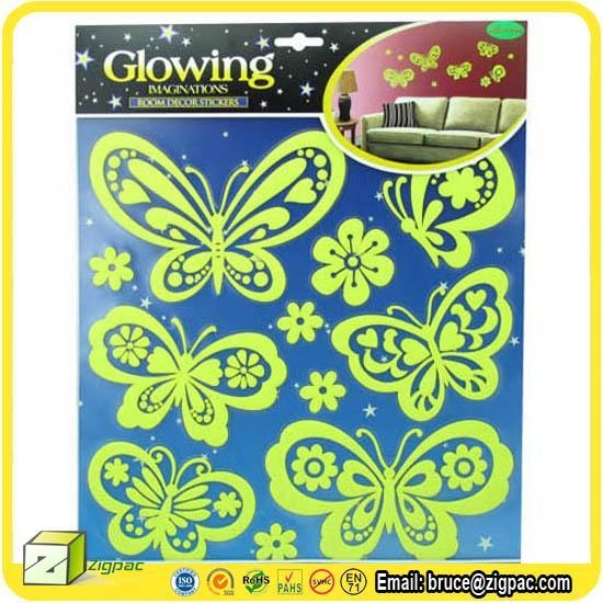 Wall Stickers Decals Item Glow In The Dark Butterfly