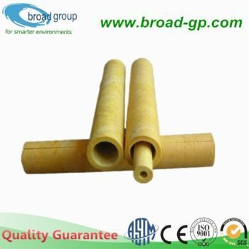 High Density Fiberglass Insulation Pipe Glasswool Pipe