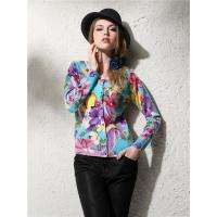 2015 Fall and Winter New Hawaii Style Flower Printing Cashmere sweater