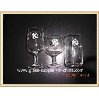Wholesale Glass printing silk screen goblet glass from china suppliers