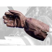Wholesale Aero Military RAF 1933 Pattern Straight Zip Flying Gloves from china suppliers