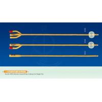 China Catheters Sterile 100% Silicone Coated Foley Catheter for Single Use 1-way no balloon catheter on sale