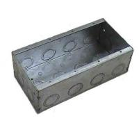Wholesale Steel Boxes and Covers Four Gang Steel Box from china suppliers