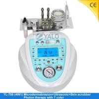 Wholesale Super Diamond Microdermabrasion Series YL-706 (4in1) Microdermabrasion with LCD from china suppliers