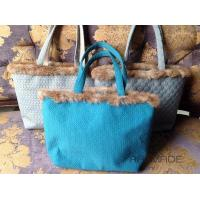 Wholesale Rabbit fur tote from china suppliers
